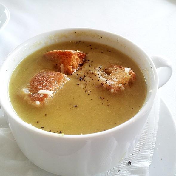 Asparagus Soup - Up Restaurant, Houston, TX