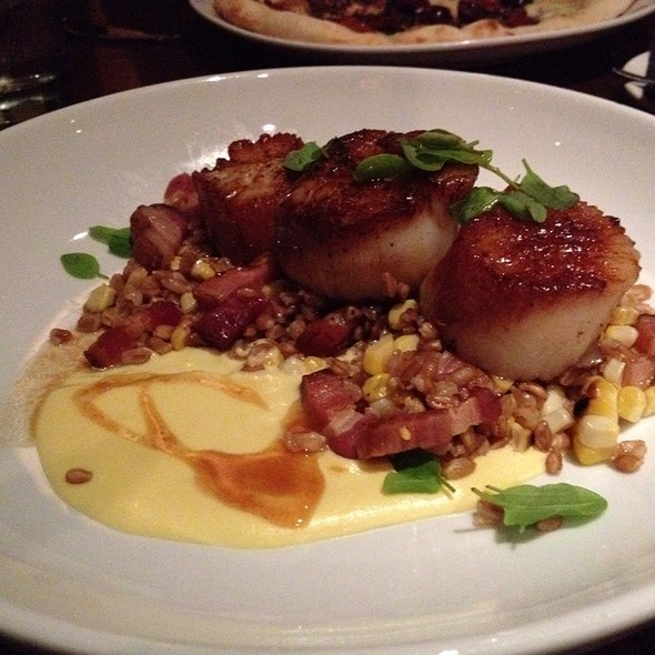 Bacon scallops - Cucina 24, Asheville, NC