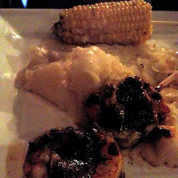 Chimichurri Shrimp, Yucca Mash, And Sweet Corn - Green Room - Greenville, Greenville, SC