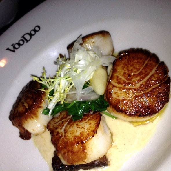 Scallops W Gnocchi & Braised Short Rib  - VooDoo Steakhouse - Rio All-Suite Hotel & Casino, Las Vegas, NV