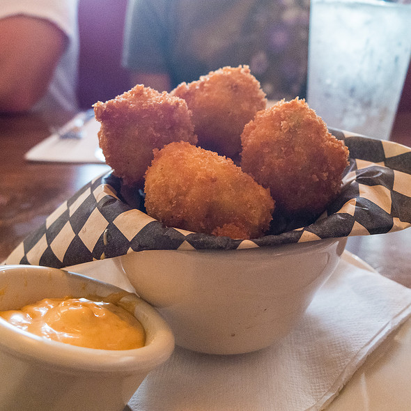 Fried Macaroni and cheese ball with Habanero  - Bremerton Bar & Grill, Bremerton, WA