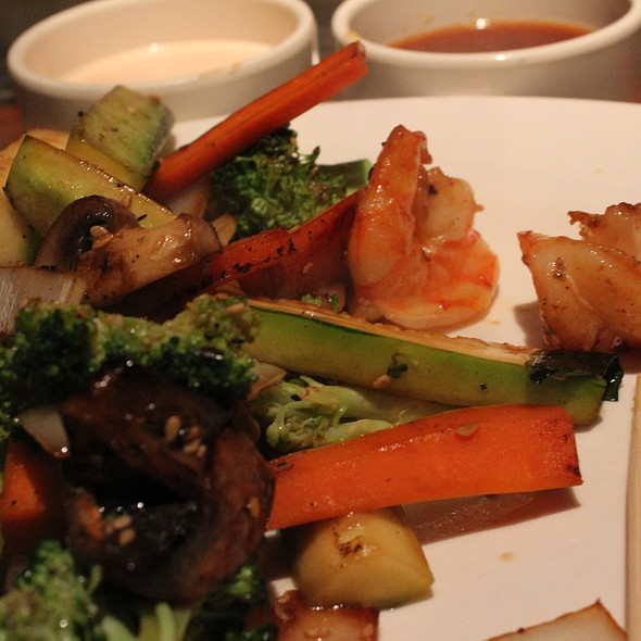 Filet Mignon and Shrimp - Otani Steak and Seafood, Virginia Beach, VA