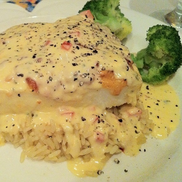 Parmesan Encrusted Halibut - The Chop House - Charleston, Charleston, WV