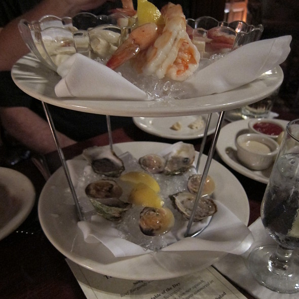 Seafood Tower - The Library Restaurant, Portsmouth, NH