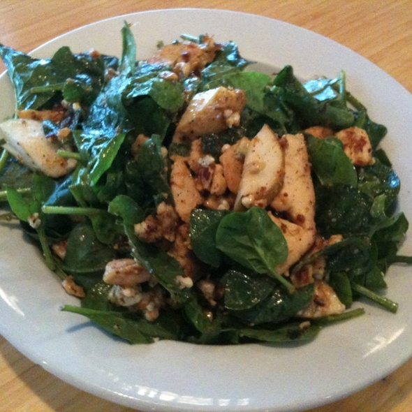 Smoked Chicken Spinach Salad - Riverside, Hood River, OR