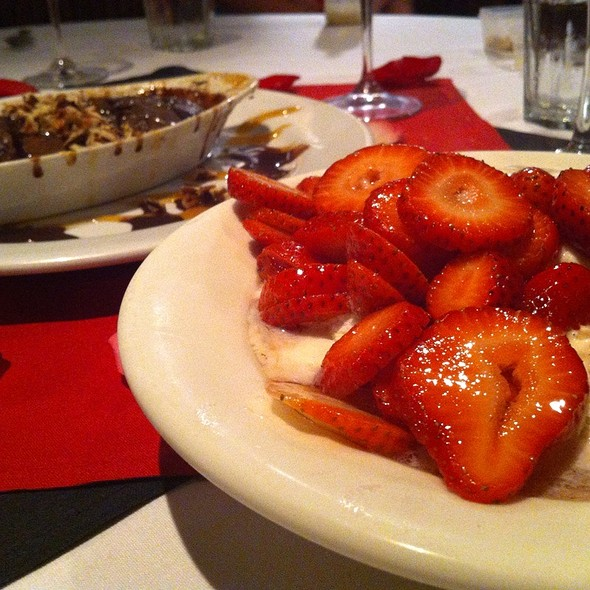 Strawberries Foster With Molten Chocolate - Deep Fork Grill, Oklahoma City, OK