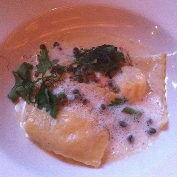 Crab Ravioli - Red Stag Supperclub, Minneapolis, MN