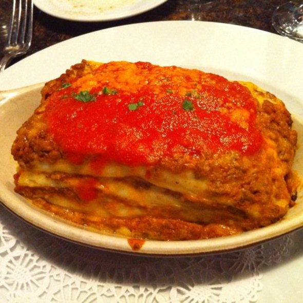 Meat Lasagna - Amici Miei, Rockville, MD