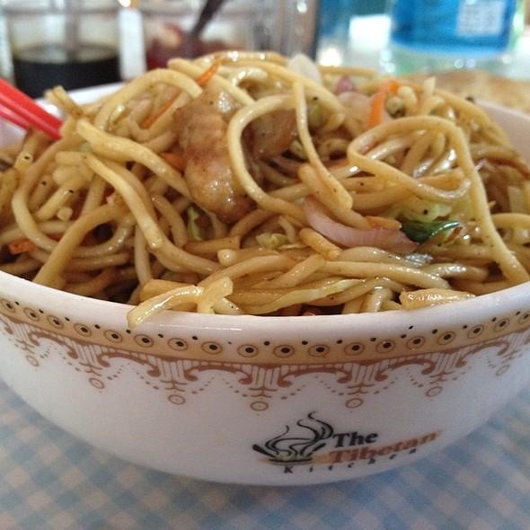 Tibetan Kitchen Leh Menu