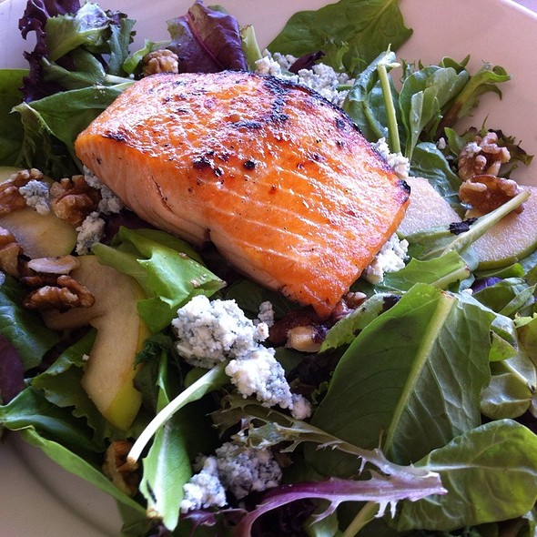 Grilled Salmon Salad - Morton's The Steakhouse - Coral Gables, Coral Gables, FL