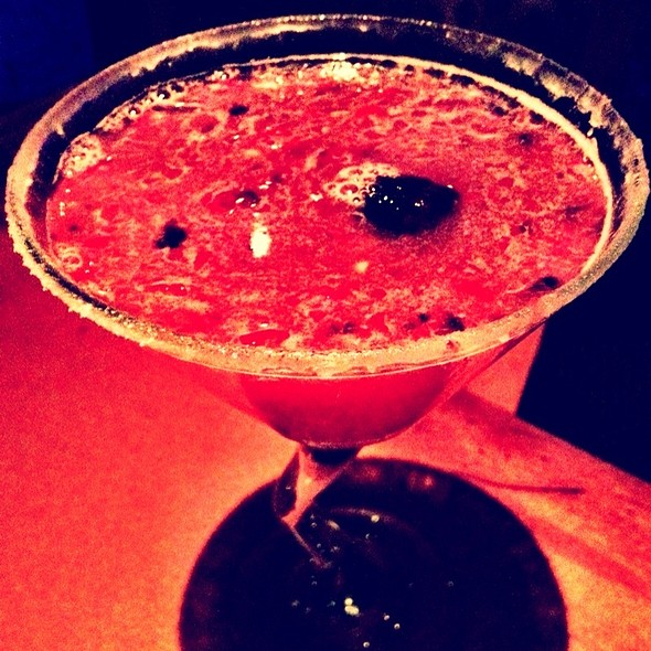 Blackberry Martini - VooDoo Steakhouse - Rio All-Suite Hotel & Casino, Las Vegas, NV