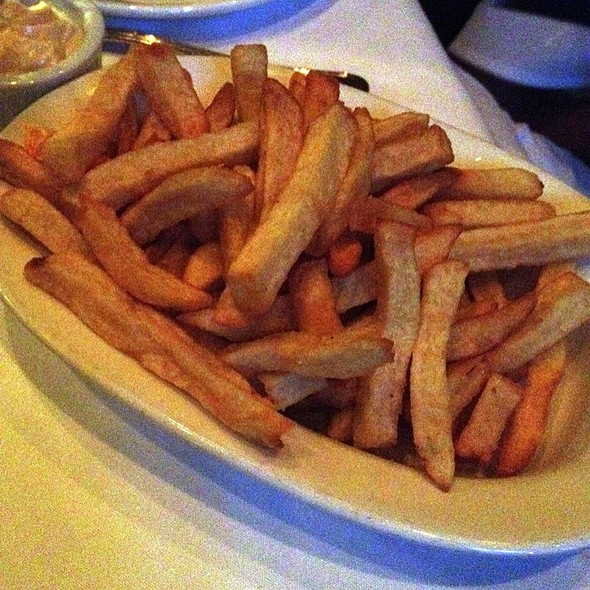 Idaho French Fried Potatoes - Gotham Steakhouse and Bar, Vancouver, BC