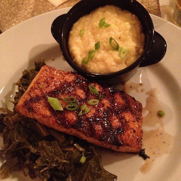 Sweet Tea Glazed Salmon - The Bistro at Topsail, Surf City, NC