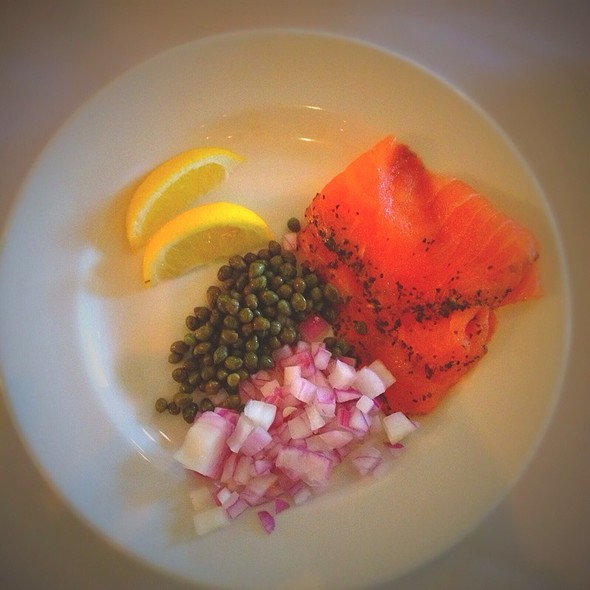 Salmon Lox - Aqua Star at The Westin Savannah Golf Resort & Spa, Savannah, GA