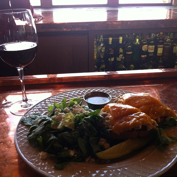 tuna open-faced sandwich - The Granary Restaurant, Jackson Hole, WY