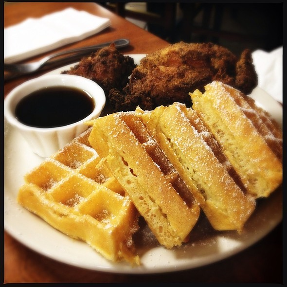 Chicken and Waffles - Red Gravy, New Orleans, LA
