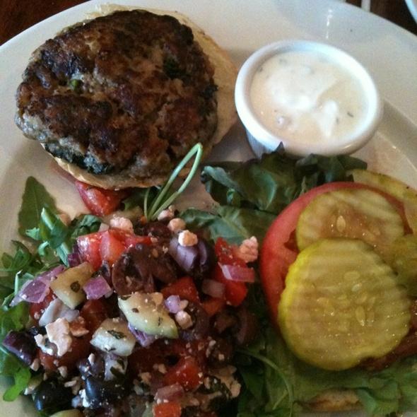 Turkey Burger - Not Your Average Joe's Methuen, Methuen, MA