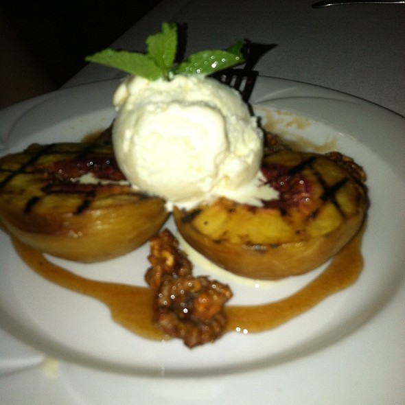 Grilled Georga Peaches - The Chop House - Annapolis, Annapolis, MD