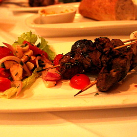 Filet Mignon Skewers - Fleming's Steakhouse - Newport Beach, Newport Beach, CA