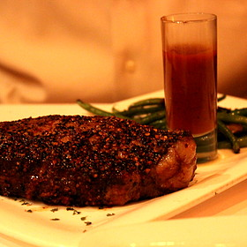Peppercorn Steak - Fleming's Steakhouse - Newport Beach, Newport Beach, CA