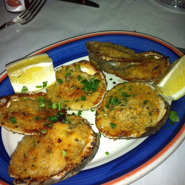 Baked Clams - RoSal's, Chicago, IL