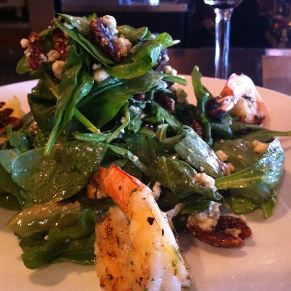 Spinach Salad - Tannins Restaurant and Wine Bar, San Juan Capistrano, CA