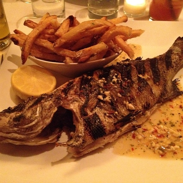 Whole Fish Of The Day - The Wild Fig, Aspen, CO
