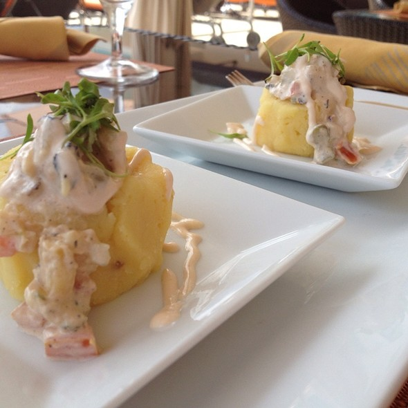 Causa de Pollo - Panorama Restaurant & Sky Lounge at Sonesta Bayfront Hotel Coconut Grove, Coconut Grove, FL