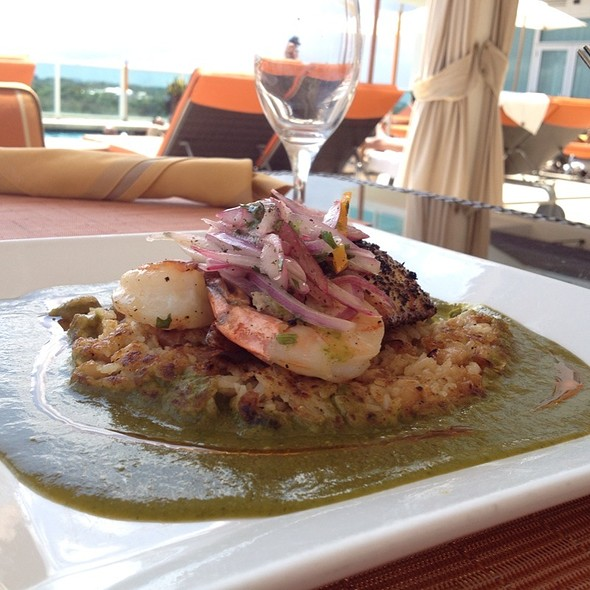 Mahi Mahi With Tacu Tacu - Panorama Restaurant & Sky Lounge at Sonesta Bayfront Hotel Coconut Grove, Coconut Grove, FL