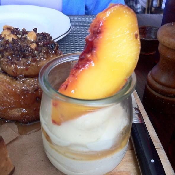 Peach & Bourbon Pie In A Jar - Michael's Genuine Food & Drink - Miami, Miami, FL