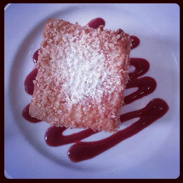 Raspberry & Cream Cheese Stuffed Brioche French Toast - Delicatessen, New York, NY