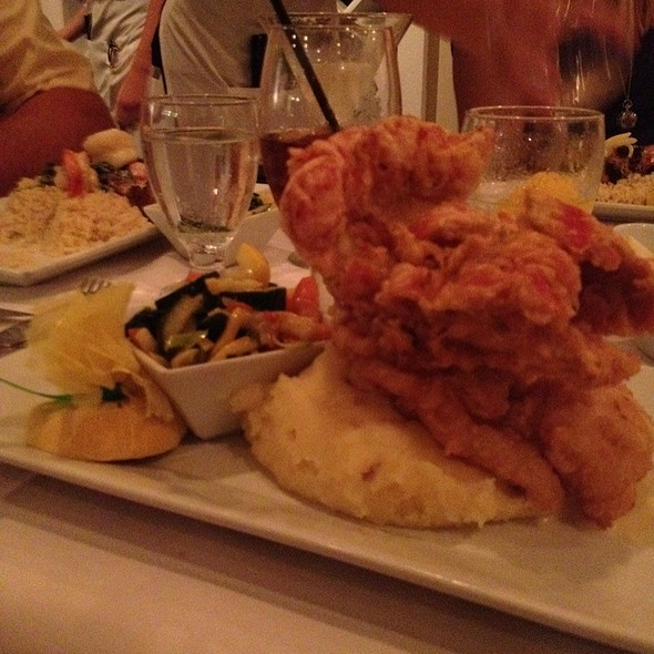Flash Fried Lobster Tail - The Pier House, Cape May, NJ
