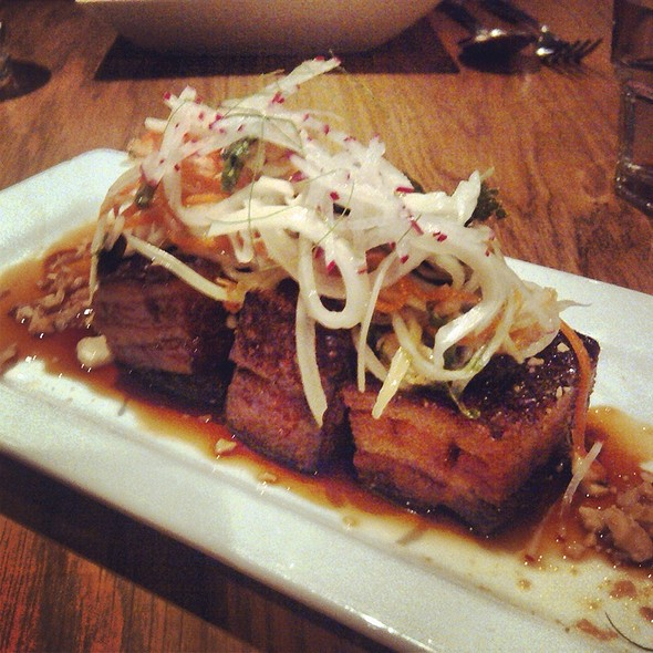 Pork Belly - Sidedoor Contemporary Kitchen & Bar, Ottawa, ON