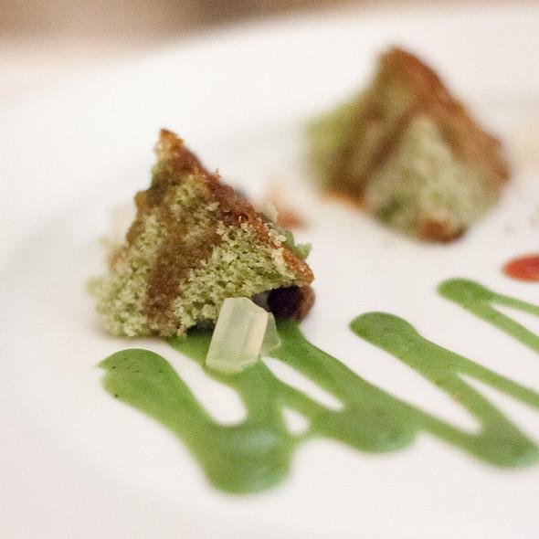 Pistachio Cake - Sent Sovi, Saratoga, CA