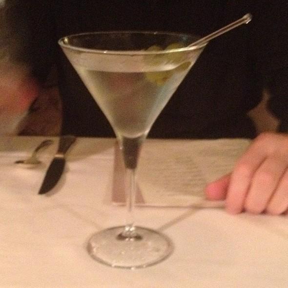 Gin Martini - Bombay Club, Washington, DC