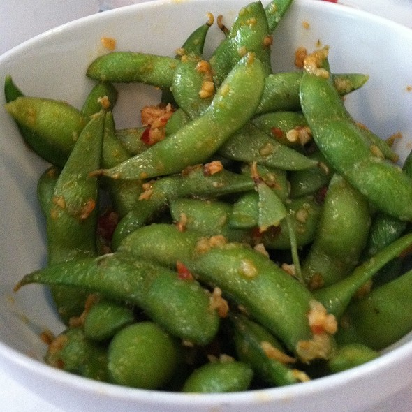 Edamame With Garlic Chilli Pil - Tsunami - Annapolis, Annapolis, MD