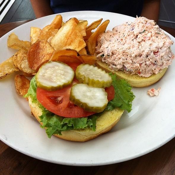 Salmon Grilled Sandwich - Nick's Riverside Grill, Washington, DC