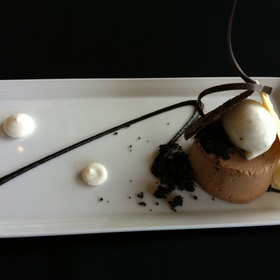 French Silk Pie - The American Restaurant, Kansas City, MO