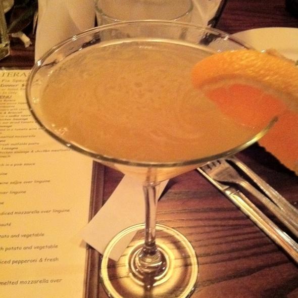 Mango Tango Martini - Butera's Restaurant of Smithtown, Smithtown, NY