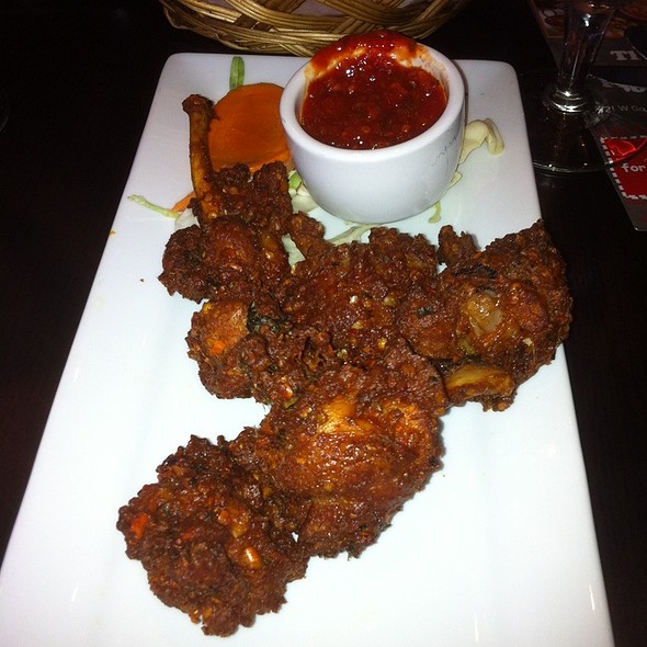 "chicken wing ""lollipops"" - India House - Hoffman Estates, Hoffman Estates, IL"