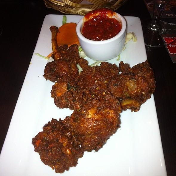 "chicken wing ""lollipops"" - India House - Hoffman Estates, Hoffman Estates, IL"