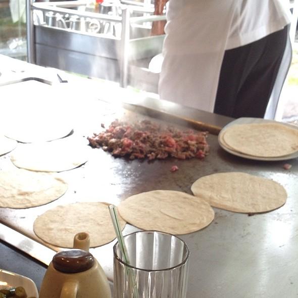 Tacos De Rib Eye - Suntory Lomas, México, CDMX