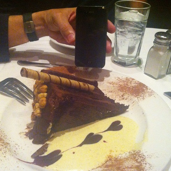 Chocolate Hazelnut Cake - The Capital Grille - Indianapolis, Indianapolis, IN