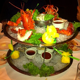 Cold Shellfish Platter - The Capital Grille - Indianapolis, Indianapolis, IN