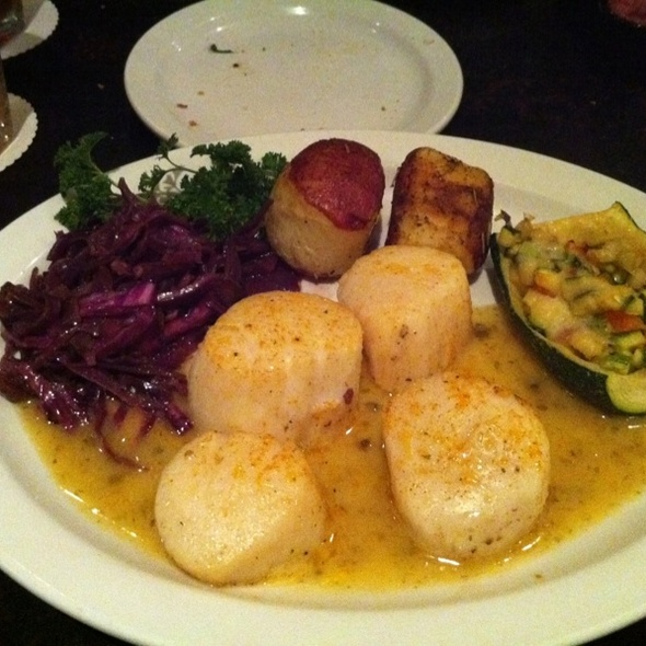 Jumbo Sea Scallops - Brave New Restaurant, Little Rock, AR