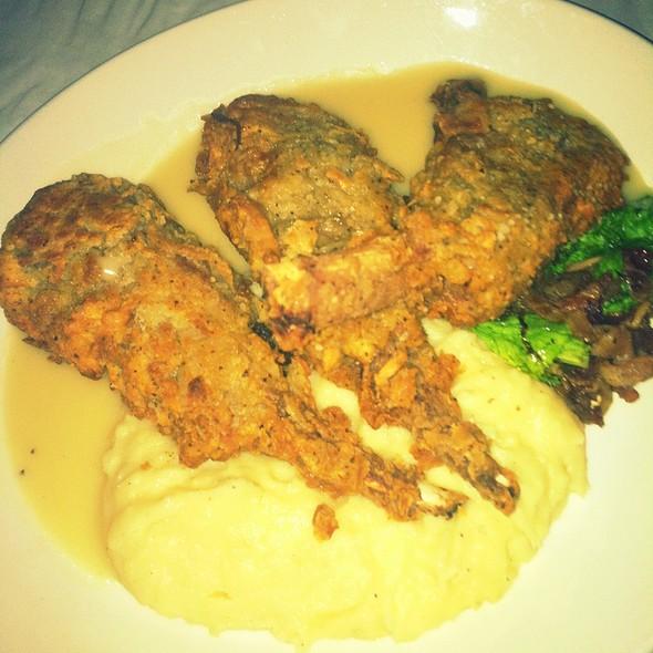 Chicken Fried Lamb Chops - Back Bay Social Club, Boston, MA