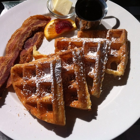 Belgian Waffles - The Weber, Denver, CO