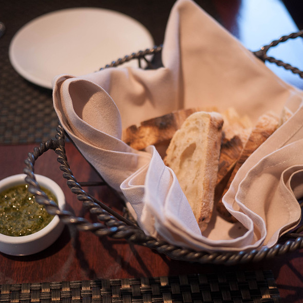 Bread And Pesto - Donato Enoteca, Redwood City, CA