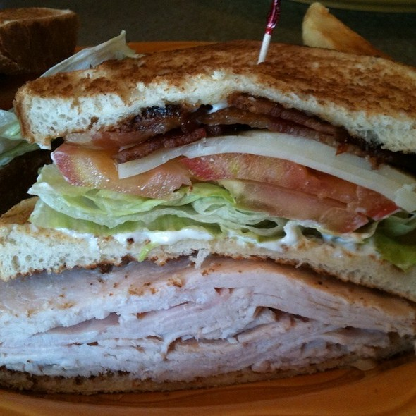 Turkey Club Sandwich - Manhattan in the Desert - Palm Springs, Palm Springs, CA