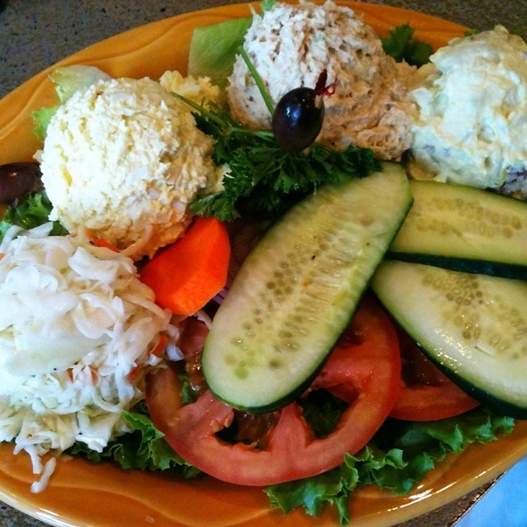 Egg Salad, Chicken Salad, Potato Salad, And Coleslaw - Manhattan in the Desert - Palm Springs, Palm Springs, CA